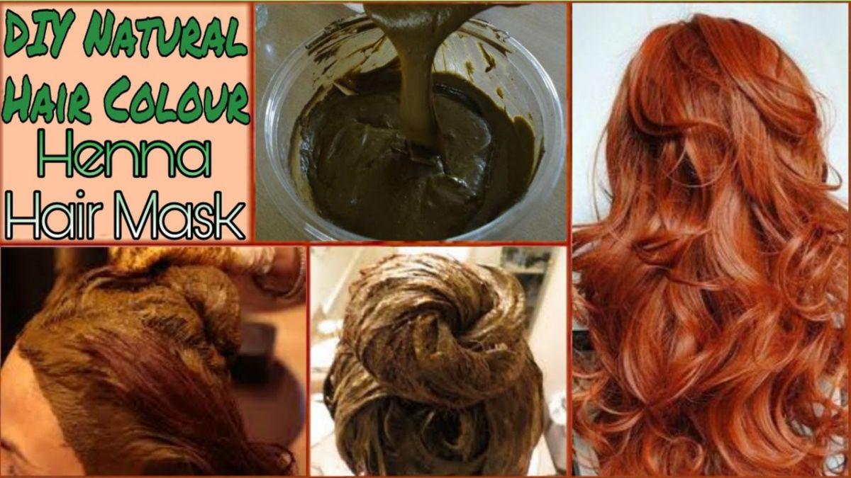 Natural Brown Hair Dye 100 Homemade With Simple Ingredients Namat